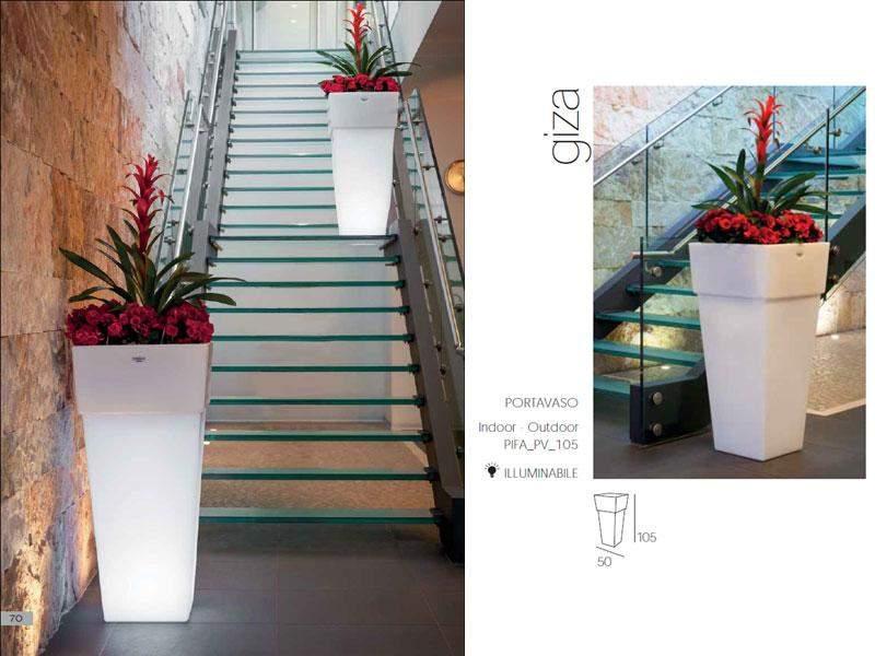Vaso portavaso giza arredo giardino arredo e complementi for Arredo garden